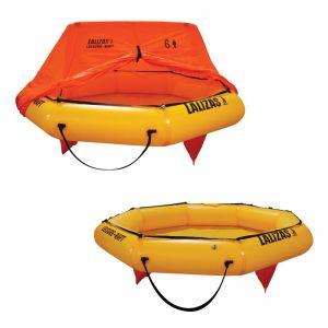 Leisure-Raft Rettungsinsel mit Überdachung 6 Personen / Lalizas