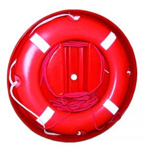 Rettungsring mit 30 m Rettungsleine und Kunststoff Gehäuse / Lalizas