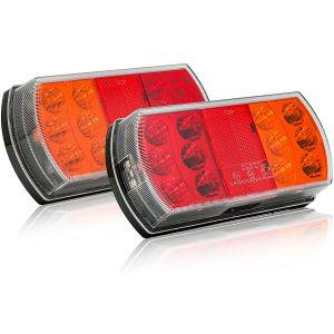 Heckleuchten LED Rückleuchten für Bootstrailer, Caravan und PKW Anhänger / Hawkeye