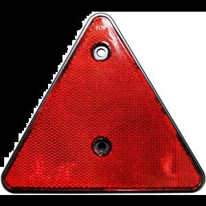 Dreieckrückstrahler Rückstrahler Reflektor dreieckig Rot für Anhänger LKW Wohnwagen Caravan / HELLA