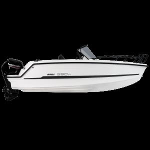 Ryds 550 VI MidC / F-Line Konsolenboot Motorboot Sportboot Freizeitboot / RYDS