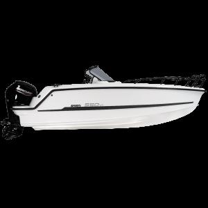 Ryds 550 VI Sport / F-Line Konsolenboot Motorboot Sportboot Freizeitboot / RYDS