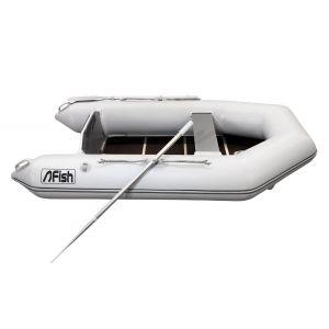 Fish 240 Luxus Schlauchboot hellgrau