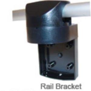Relinghalter für Navigationslaternen der Serie 25 Gehäusefarbe schwarz Ø 20-25,4 mm passend für Navigationslicht / Aqua Signal