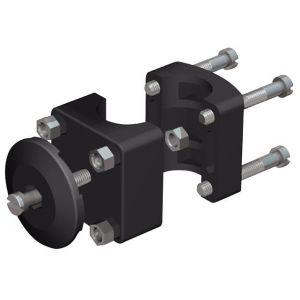 Relingkonnektor Wirbelhalter Ø 25 mm Reling für Fenderkörber  / Nawa