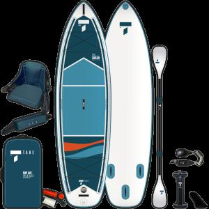 SUP-YAK Air 10'6 Beach vKayak aufblasbares Hybrid SUP-Kayak Paket / Tahe