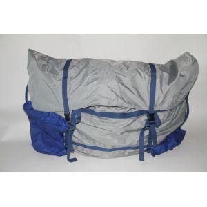 Schlauchboottasche Aufbewahrungstasche Packtasche für Schlauchboot  - 100 x 80 x 18 cm  dunkelblau