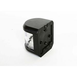 Navigationslicht Topplicht 225° Weiss 12 Volt Serie 41 Gehäusefarbe schwarz Navigationslampe zur Seiten oder Mastmontage / Aqua Signal
