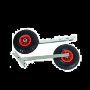 Transporträdersatz Slipräder Heckräder Räder klappbar für Schlauchboote Niro IBIS 2