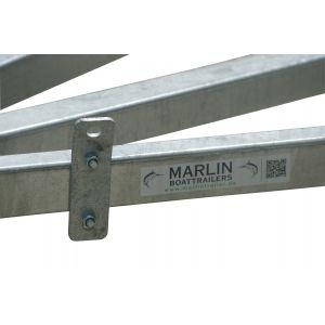 Zurrösen Zurr Ösen Verzurrbeschlag für Bootstrailer und Bootsanhänger in verschiedene Rahmenhöhe / Marlin